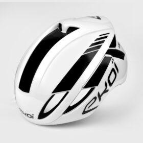 Helmet Ekoi Aero14 White BlackPro